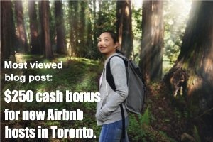 View blog post - Airbnb cash bonus offer for new hosts in Toronto
