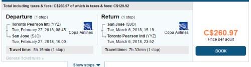 San Jose | YYZ Deals (Toronto)