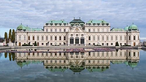 Castle Belvedere, Vienna, Austria