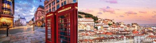 London, UK and Lisbon, Portugal