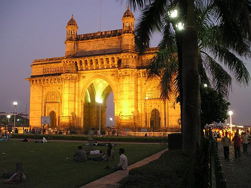 Gateway of India in Mumbai Bombay, India