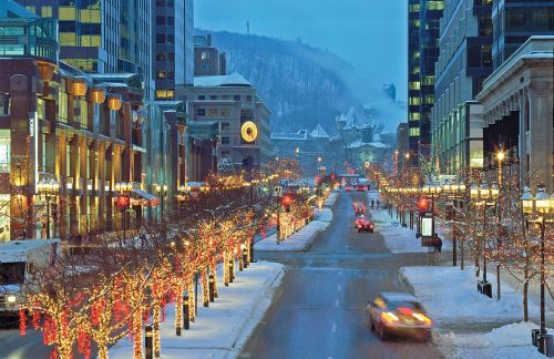 Montreal at Christmas