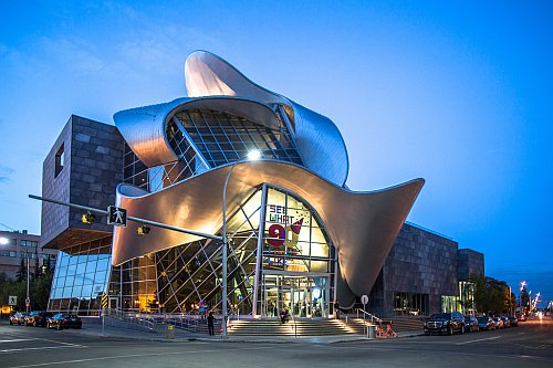 Art gallery in Edmonton, Alberta