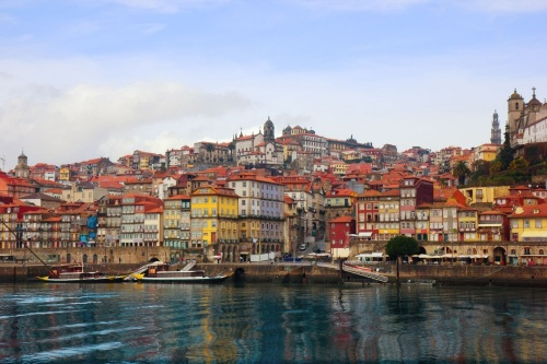 View of Porto, Portugal from the river
